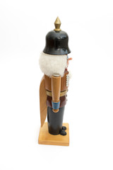 Antique Nutcracker Police isolated