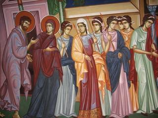 monastery Kikkos fresco (Cyprus)