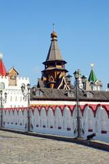 Church of St. Nicholas Izmailovo Kremlin Moscow The Bridge