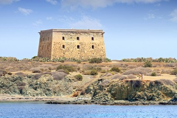 Tabarca island, fortress of San Pedro