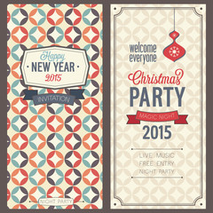 Christmas party invitation.