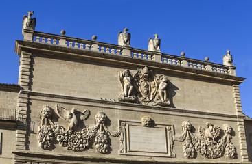 façade of hotel des monnaies