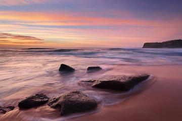 The colours of summer at Bungan beach Australia