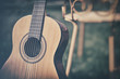 Leinwanddruck Bild - Spanish guitar