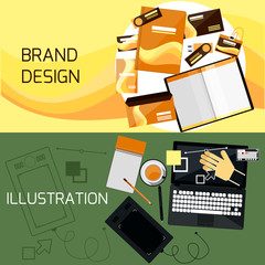 Brand and Web Design
