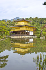 Japanese golden castle