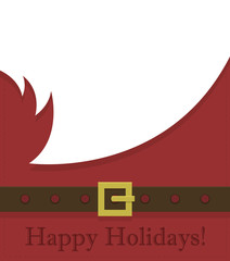Santa Claus. Greeting card