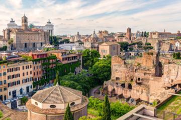 Old Rome cityscape
