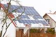 Solarzellen im Winter