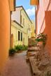 Leinwandbild Motiv Alleyway. Brienza. Basilicata. Italy.