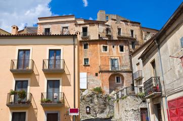 View of Brienza. Basilicata. Italy.