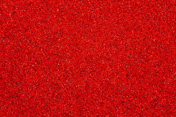rote Kiesfläche