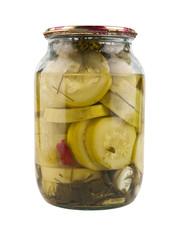 canned zucchini