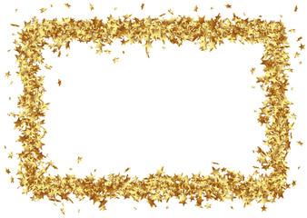Rahmen, Sterne, Goldsterne, golden, weißer Hintergrund, Vorlage