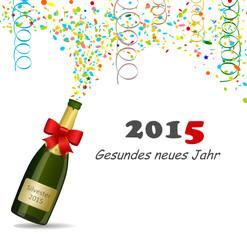 Sekt Silvester 2015