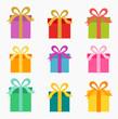 Christmas presents set - 74185700