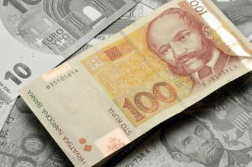 Hrvatska kuna croatian croata kroatische Croatia money currency