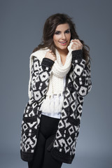 Soft clothes for winter season