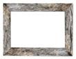 Leinwanddruck Bild - Bark's Natural Wooden Picture Frame