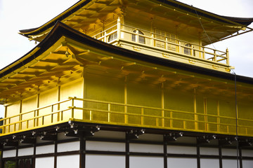 Golden Japanese castle