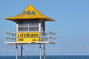 Australian Lifeguards tower