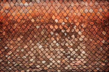 Old roof tile