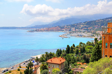 Italian and French Riviera