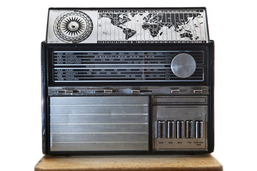 Old international dial radio