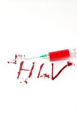 Blutspritzer HIV