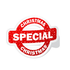 CHRISTMAS SPECIAL stamp (merry offers sale xmas)