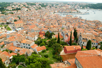 The picturesque town of Rovinj