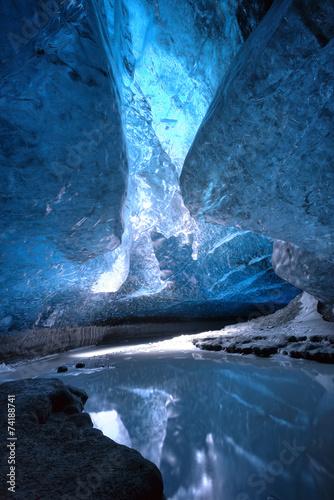 Ice cave - 74188741