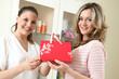 Verkauf im Kosmetiksalon