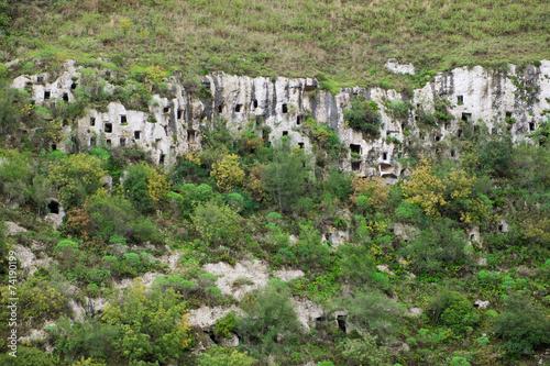 Tuinposter Canyon Pantalica