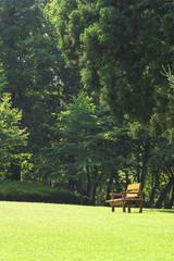 公園のベンチ 千葉