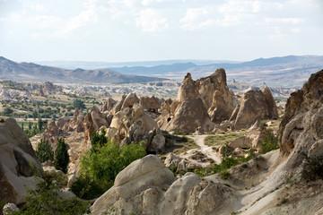 Goreme National Park. Cappadocia in Turkey