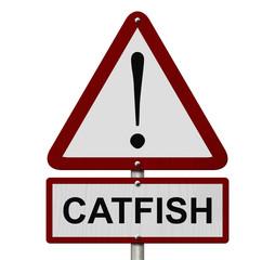 Catfish Caution Sign