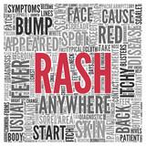RASH Concept Word Tag Cloud Design poster