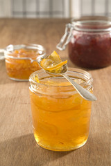 Delicious homemade marmalade and jams