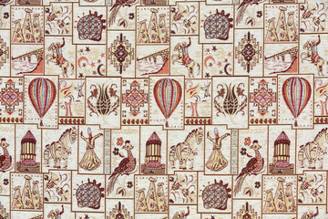 The carpet with Cappadocian motifs