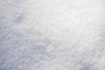 white snow surface