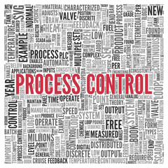 PROCESS CONTROL Concept Word Tag Cloud Design