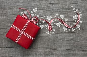 Gutschein zum Valentinstag, zur Hochzeit, zum Muttertag