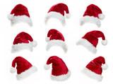 Santa hat collection - 74195980