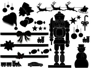 Weihnachtliche Gegenstände