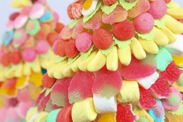 Fond coloré de bonbons