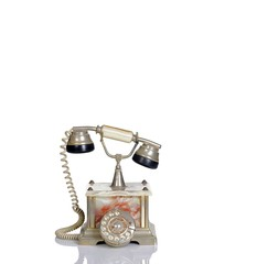 Traditional old telephone