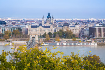View of the city, Budapest, Hungary