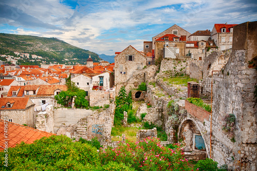 Poster Dubrovnik Old Town, Croatia