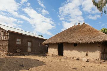 Traditional Ethiopian house